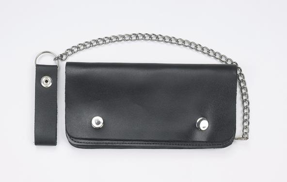 """Biker Bifold Chain Wallet 8"""""""