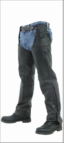 C328-hook<br>Chaps Pants (Naked Leather)