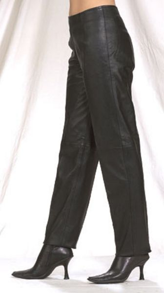C503<br>Ladies hip hugger pants, side hidden zipper on top