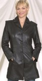 DF5<br>Ladies 2/4 coat with button front
