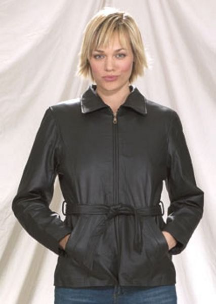 DL15<br>Ladies 2/4 jacket with removable belt zipout lining