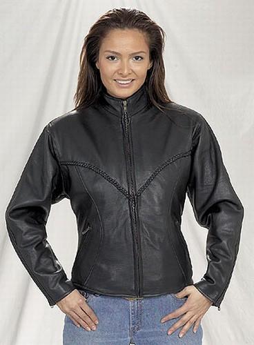 DLJ749-09<br>Ladies braided jacket