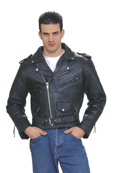 DMJ201-04<br>Mens Cowhide Leather