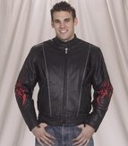 DMJ782-01<br>Mens Naked Racer Jacket