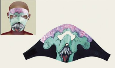 FM11<br>Zombie Face mask with velcro strap on back