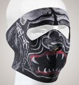 FM12<br>Alien Monster Face mask with velcro strap on back