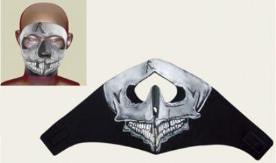 FM15<br>Skull Face mask with velcro strap on back