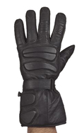 Full finger riding gloves with gel and velcro strap