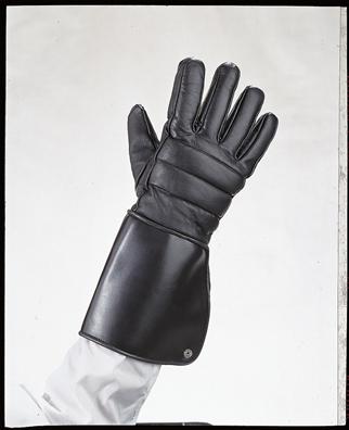 Gauntlet glove W/ lining