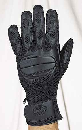 Full finger riding gloves with gel, with velcro