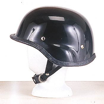 H409<br>Turtle shiny novelty helmet, Y-strap, Q-release