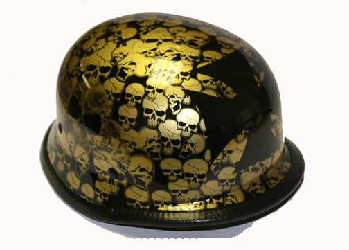 H5402-Smoky<br>German Novelty helmet, Y-strap, Q-release