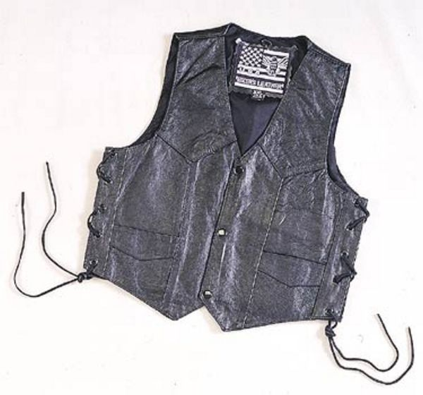 KD392<br>Regular kids vest side laces