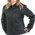 DLJ219<br>Ladies soft leather jacket