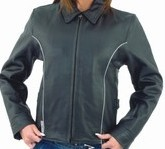 DLJ272<br>Ladies Motorcycle Jacket