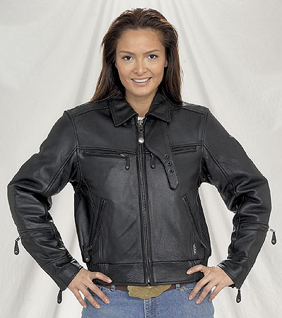 DLJ286<br>Ladies Motorcycle Jacket