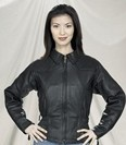 DLJ797-01<br>Ladies Naked Cowhide Jacket