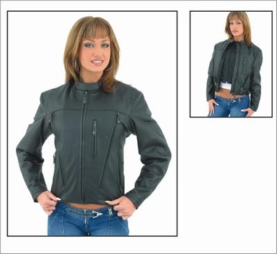 DLJ243<br>Ladies Soft Leather Jacket