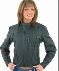 DLJ243<br>Ladies Soft Leather Jacket