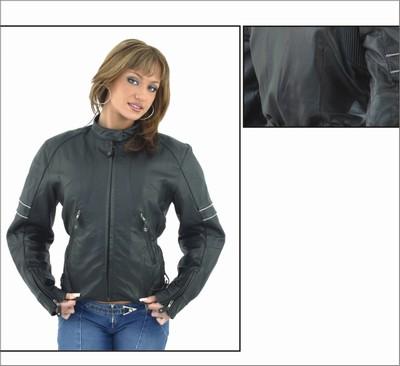 DLJ264<br>Ladies soft leather jacket