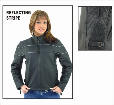 DLJ7900<br>Ladies Soft Leather Jacket