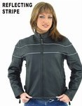 DLJ7900<br>Ladies Soft Leather Jacket