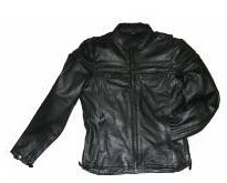 DMJ 796-01<br>Men&#39;s Cowhide Racer Jackets