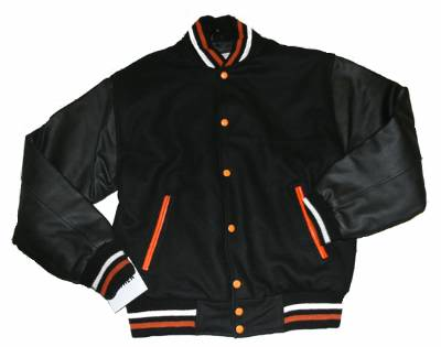 DMJ798<br>Mens Varsity Baseball Jackets