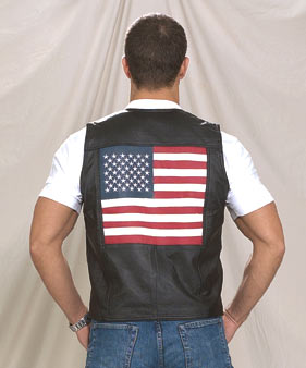 MV2750<br>USA Leather Vest
