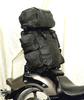 Leather Sissy Bar Bag **ON SALE**