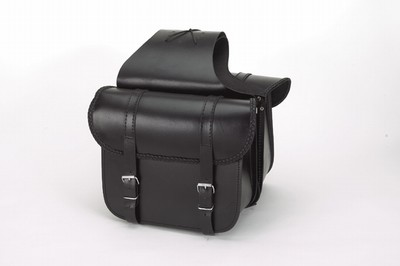 DSD4019<br>PVC-Throwover saddlebag with braid