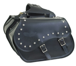 SD4055-PV<br>PVC SADDLEBAG WITH STUDS
