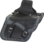 SD4059-PV<br>PVC SADDLEBAG WITH STUDS