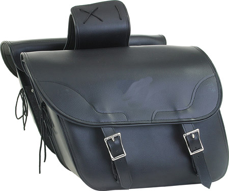 SD4067-PV<br>PVC SADDLEBAG WITH EAGLE-LIFE TIME WARRANTY