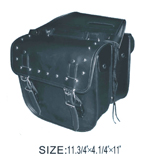 SD4071-PV<br>PVC Z/o Saddle Bag w/ Heavy Duty Verlcro cover & Lock