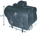 SD4073-PV<br>PVC SADDLEBAG WITH Q-RELEASE & EAGLE-LIFE TIME WARRANTY