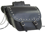 SD4074-PV<br>PVC SADDLEBAG WITH STUDS