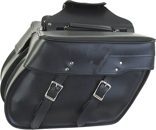 SD4082-PV<br>Slanted PVC Throw-over Saddlebag
