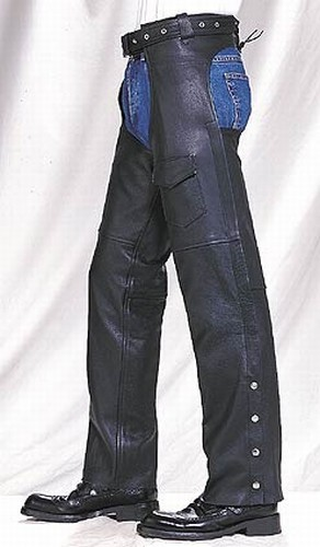 C325-04<br>Plain Leather Chaps (Medium Weight) **ON SALE**
