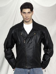 DMJ734-01<br>Mens Naked Cowhide Jacket
