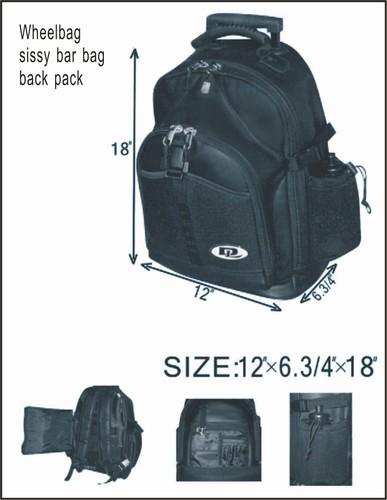 PVC SISSY BAR BAG - LIFE TIME WARRANTY