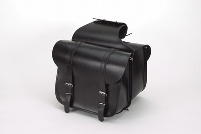 PVC SADDLEBAG WITH ZIPOFF & Q-RELEASE