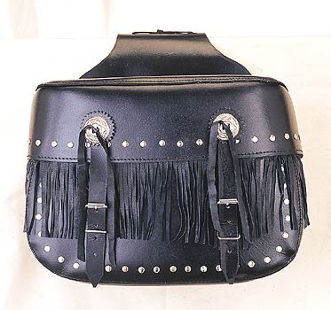 PVC Zipoff Saddlebag with heavy duty Velcro Cover & Lock
