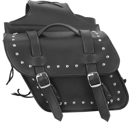 PVC Saddle Bag w/ Studs