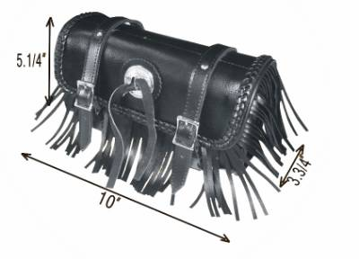 TB3000<br>Toolbag with braid and fringes,concho