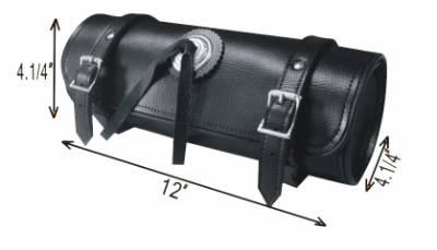 TB3002-12<br>PVC-Toolbag plain concho  12&#34;