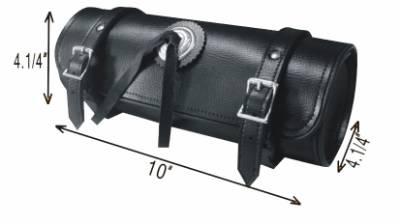 TB3002<br>PVC-Toolbag plain concho