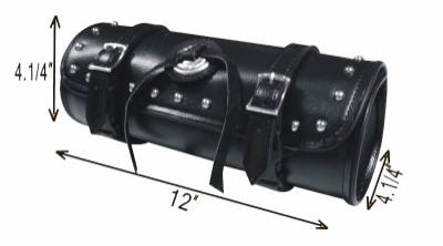 TB3004-12<br>PVC-Toolbag with concho,studs 12&#34;