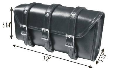 TB3009-12<br>PVC-Toolbag plain 3-straps 12&#34;