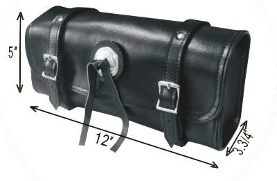 TB3024-12<br>PVC-Toolbag with concho,studs 12&#34;